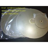"Buy cheap 8"" Coated Diamond Flat Lap Disc with Grit 320 1mm thickness for glass working from Wholesalers"