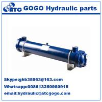 Buy cheap Multi tube Type hydraulic oil cooler , heat exchanger hyd oil coolers KMCL10Y80 from wholesalers