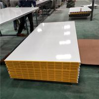 Buy cheap 25 years firproof greywhite 1150-50-0.376mm mgo sandwich panel for clear room from wholesalers
