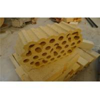 High Alumina Silicate Refractory Fire Checker Bricks / Tiles For Hot Blast Furnace