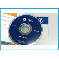 Buy cheap LICENZA Microsoft Office Pro 2013 plus key 100% activation Microsoft Office 2013 Pro PKC box for 1PC from wholesalers