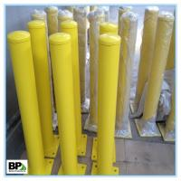 Buy cheap Steel parking bollard for road lot For indoor and outdoor security from wholesalers
