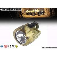 Buy cheap 13000Lux High Brightness Rechargeable Led headlamp with 2.8Ah Li - ion Battery from wholesalers