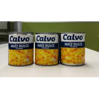 Buy cheap Calvo Brand Canned Sweet Corn Maiz Dulze Net Weight 241g for Central America from wholesalers