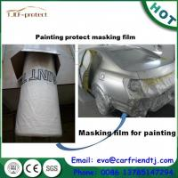 Buy cheap Spray paint pink color masking film for Auto painting protect from wholesalers