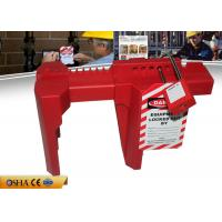 Buy cheap Red Adjustable Industrial Valve Lock Out Osha Standard 6 Padlocks Available from wholesalers