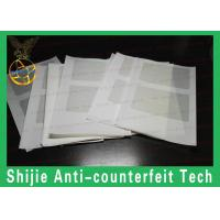 Buy cheap Good quality Safety shipping ID hologram overlay without backlight adhesive from wholesalers
