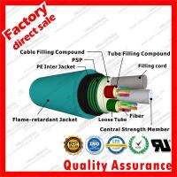 China high quality MGTSV blue colors Vitta PVC Flame retardant Jacket mining cable optic cable for miner communication on sale