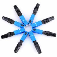Buy cheap Pre Polished Fiber Patch Cord Connectors SM SC/PC Fast Speed For 0.9/3.0mm Cable from wholesalers