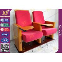 Buy cheap Church Type / Theater Type Theater Seating Furniture With USB Port Phone Recharge from wholesalers