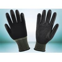 Buy cheap Safety Working PU Coated Gloves Silk Screen Logo Printing Smooth Surface from wholesalers