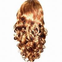 Buy cheap Europe Virgin Lace Wigs, Available in Any Colors and Textures from wholesalers