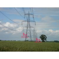 Buy cheap Greenfield tower for overhead transmission line project from wholesalers