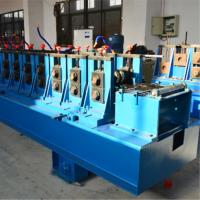 Buy cheap Hydraulic Punching Cable Tray Roll Forming Machine , Rolling Form Machine Cr12mov product