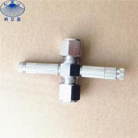 Buy cheap High pressure metal sliplock , thread type misting nozzle fittings from wholesalers