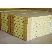 Buy cheap Pu sandwich panel for Insulation Projects PU sandwich boards for Prefab houses product
