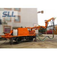 Buy cheap Full Automatic Concrete Shotcrete Machine With Remote Control Four Wheel Drive from wholesalers