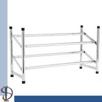 Buy cheap Expandable shoe rack / Chroming metal shoe stand / Shoes Display Rack / Home storage display rack for shoes from wholesalers