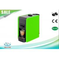 Buy cheap Easy Cleaning Lavazza Blue Espresso Machine , Green Coffee Maker With Removable Water Tank from wholesalers