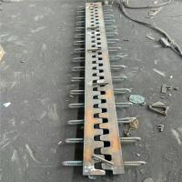 Buy cheap Anti-slip Aluminum bridge expansion joint in building materials from wholesalers