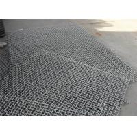 Buy cheap Black Stainless Steel Woven Wire Mesh , Gravel Stone Sand Mining Sieve Mesh from wholesalers