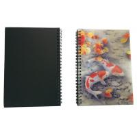 Buy cheap Wires Colored 80 Pages A5 3D Plastic Cover Notebooks For School Use from wholesalers