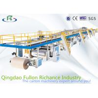 Buy cheap 3/5/7-layer High Speed Automation Computerised Corrugated Carton Production Line for Paperaboard Cardboard Making from wholesalers