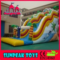 Buy cheap SL-217 Giant Commercial Inflatable Slide For Sale from wholesalers