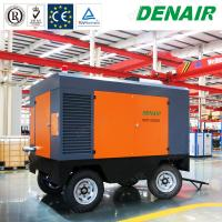 Buy cheap Diesel Portable Mobile Screw Air Compressors for Underground Drilling Equipment from wholesalers