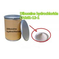 Buy cheap Local Anesthetic Veterinary Raw Materials Apis Dibucaine Hydrochloride HCl  61-12-1 from wholesalers