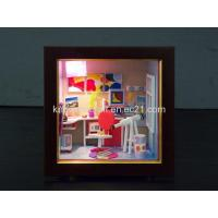 Buy cheap 3D Puzzle, Dollhouse, Wooden Model, Educational Toy, 129-03 from wholesalers
