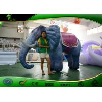 Buy cheap PVC 0.44mm Giant Inflatable Elephant / Inflatable Animal Cartoon For Promotion from wholesalers