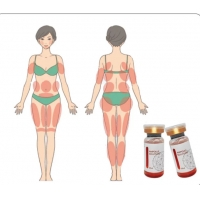 Buy cheap Dissolve Fat Lipolytic Serum RED Ampoule Lipolysis from wholesalers