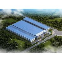 Buy cheap Prefabricated GB Truss Steel Structure , Steel Frame buildings Hot - Dip Galvanized from wholesalers