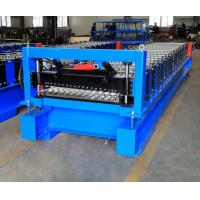 Buy cheap Corrugated Steel Panel Roll Forming Machine , Steel Frame Roll Former 12-18m/Min from wholesalers