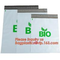 Buy cheap Corn starch Plastic delivery envelopes compostable biodegradable mailing courier bags,2.4Mil heavy duty biodegradable an from wholesalers