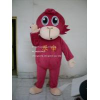 Buy cheap strong red monkey mascot costume, advertising monkey mascot costume from wholesalers