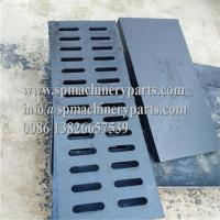 Buy cheap High performance light duty 19-11/16 L x 5-1/4 W x 3/4 H rectangular ductile iron channel drain grate from wholesalers