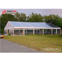 Buy cheap Wonderful Clear Span Large Pvc Tent , Big Party Tents For Rent Tear Resistant from wholesalers