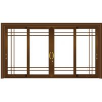 Buy cheap Small Sliding Glass Doors Replacement / Aluminum Sliding Doors For Patio from wholesalers