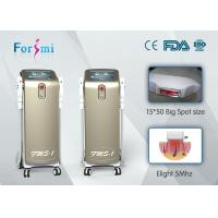 Buy cheap Newest design 3 handles champagne ipl shr laser hair removal machine for sale from wholesalers