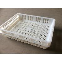Buy cheap White poultry transportation crates plastic chicken crates for sale from wholesalers