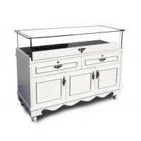 Buy cheap Retail Jewelry Display Cases Jewelry Store Showcases With Lights Europe Style from wholesalers