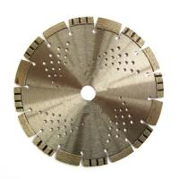 Buy cheap Synthetic Diamond Asphalt Cutting Blade Inclined Teeth Drop Segment Protection from wholesalers