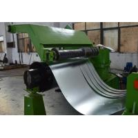 Buy cheap 380V 50Hz 3 Phase Cold Coil Steel Slitting Lines 30m / Minute Green Color from wholesalers