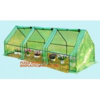 Buy cheap Polycarbonate strong garden greenhouse double-door green house,NEW WALK IN GREENHOUSE GARDENING SEEDS PROPOGATING 143cm* from wholesalers