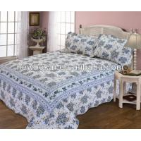 Buy cheap Popular quilt set with border,bedding set,microfiber polyester quilts,any size any color from wholesalers