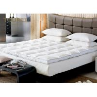Buy cheap Polyester Fabric Quilted Hotel Mattress Protector Customed Size from wholesalers