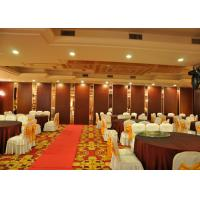 Buy cheap Melamine Operable Partition Conference Room Movable Walls 2000 - 4000MM Height product