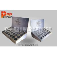 Buy cheap Countertop Cardboard Cosmetic Display Stands , lollipop display stand from wholesalers